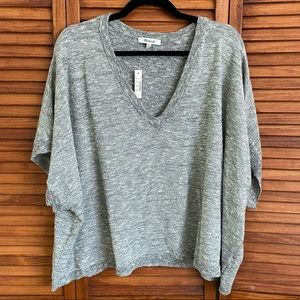 MADEWELL Knitted Short Sleeve Sweater
